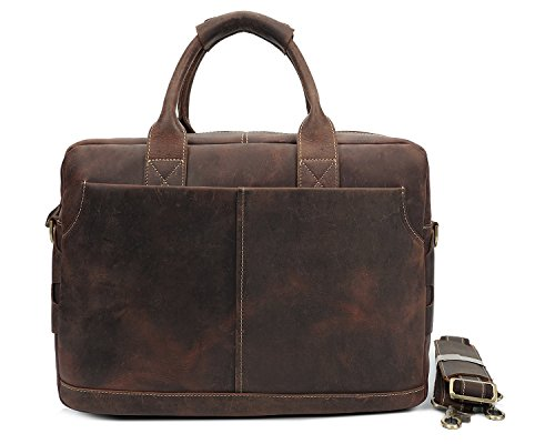 Borsetta E Laptop Uomo Crazy Borsa Horse Brass Retro Per Leather Ghc Borse Messenger AOwTq5