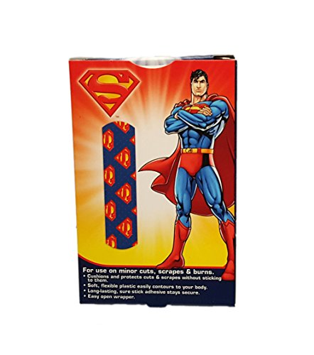 80ct Superman Adhesive Bandages! DC Comics