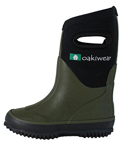 Pictures of Oakiwear Children's Neoprene Rain Boots Snow 3