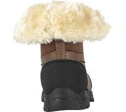 Lugz Tambora Boys\' Infant-Toddler-Youth Boot 5 M US Toddler Brown-Black-Cream