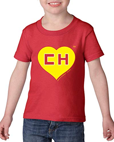 Colorado State Flag El Chapulin Toddler Heavy Cotton Kids Tee (5TR) Red]()