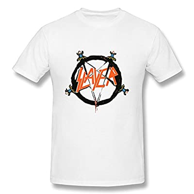 AOPO Slayer Band O-Neck Tee Shirts For Men