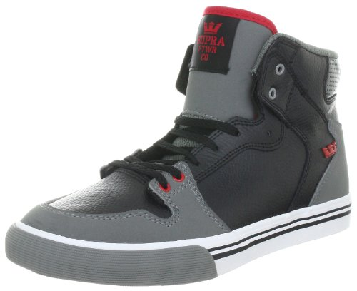 SUPRA The Kids Vaider High Top 3.5M / 5.5W Black (Supra High Tops Kids)