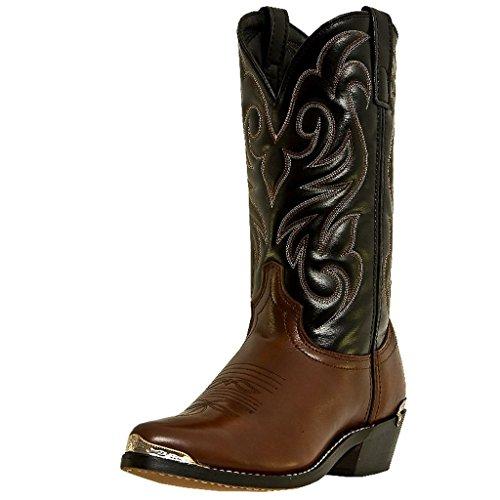 UPC 679145481816, Laredo Mens Brown Peanut Crunch Leather Nashville 12in J Toe Cowboy Boots 13 EW