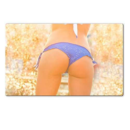 MSD Natural Rubber Large Table Mat IMAGE 43431573 Sexy hot girl wearing brazilian bikini dancing
