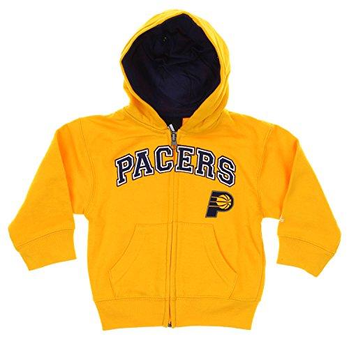 Adidas NBA Indiana Pacers Toddlers Full Zip Hoodie, ()