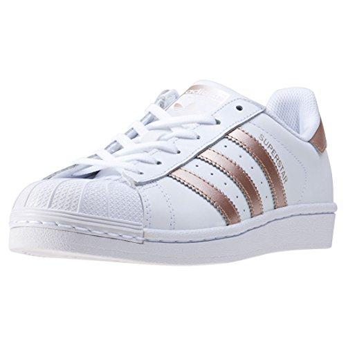 White footwear para Colour Mujer Zapatillas Footwear adidas supplier White Blanco Superstar WzHYA77qw