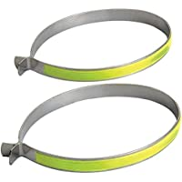 Prophete Trouser Clips with Reflector Stripes - Multi-Colour