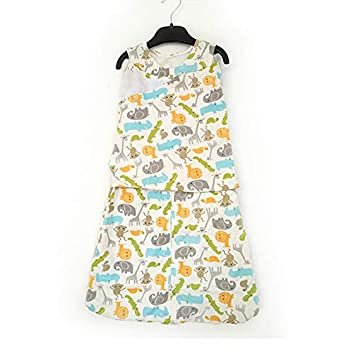 Amazon.com : RubyShopUU 100% Cotton Baby Swaddle Sleeping ...