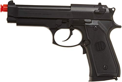 umarex usa beretta 92 fs, electric 16 round black(Airsoft Gun) (Best Semi Auto Airsoft Pistol)