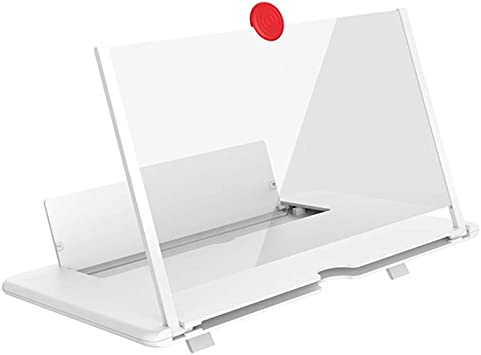 Afazfa - Lupa para Pantalla de teléfono 3D, Amplificador, Soporte ...