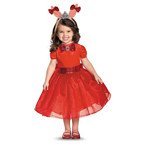 Olivia Toddler Costumes (Olivia Deluxe Toddler Costume, Large (4-6x))