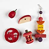 Kaytee Chew and Treat Toy Assortment for Guinea Pigs, 5-Pack