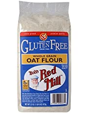 BOB's RED MILL Gluten Free Whole Grain Oat Flour, 623 Gram