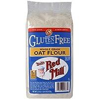 BOB's RED MILL Gluten Free Whole Grain Oat Flour, 623 Gram