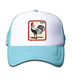 Amazon.com  Beaver Rooster Toddler Sunscreen Trucker Cap Style Great For  Kids  Clothing e488ea69dec7