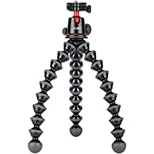 JOBY GorillaPod 5K Kit. Professional Tripod 5K Stand and Ballhead 5K for DSLR Cameras or Mirrorless Camera with Lens up to 5K (11lbs). Black/Charcoal.