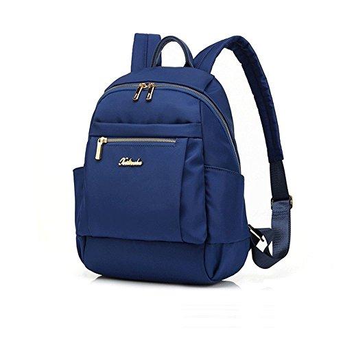 Medio Zaino Poke fashionFashion Borsa tracolla Pack Blu Borsa Casual a New 35 medio Donna Tote 14cm 26 Nero 57qzw1pnx