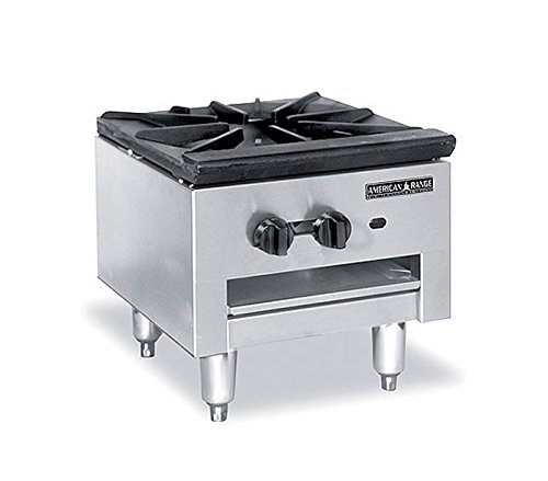 Series Gas Restaurant Range (American Range SPSH-18 NG Economy Stock Pot Stove, Natural Gas, 90000 BTU/Hr)