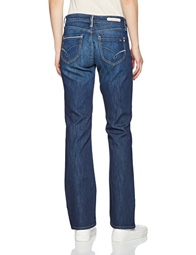 A Str dark Dritta 17382 Blue Donna Edge Mavi Jeans Blu Gamba Mona EvwOgnq6