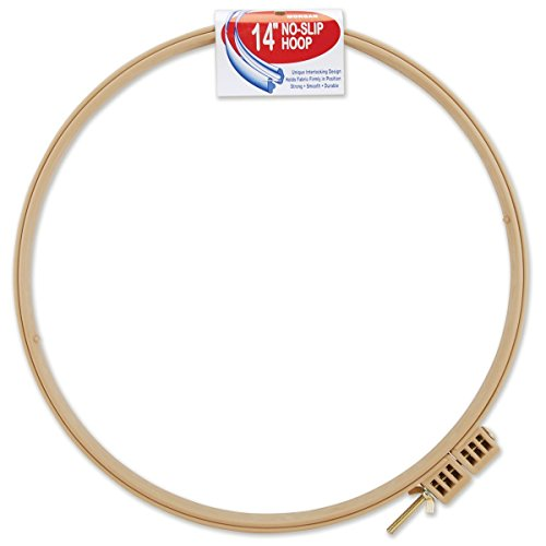Morgan Products Plastic No-Slip Hoop (Quality Quilting)