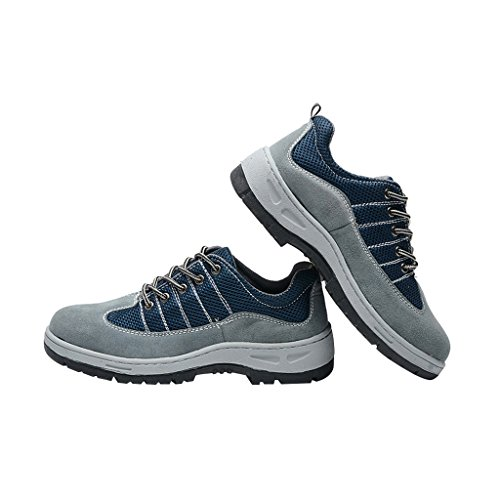 Shoes Safety Men's Blue Ventilate Steel Shoes Toe Optimal Shoes Comp Work 8UBOO5xw