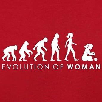 8 Colours 3-24 Months Dressdown Evolution of Woman Knitting Baby T-Shirt