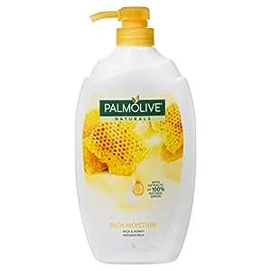 Palmolive Naturals Rich Moisture Soap free Shower Milk Body Wash Milk & Honey 1L