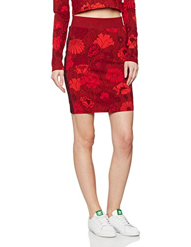Midirock Femme multicolore adidas Bandes 3 Jupe qI77pwPB