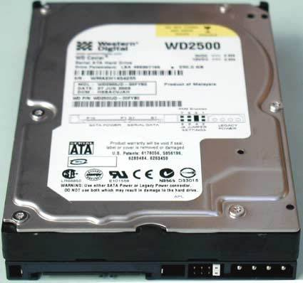 Western Digital Caviar SE 250GB SATA Hard Drive ( WD2500JD ) by Western Digital