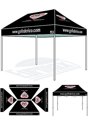 Eurmax 8x12 Ez Pop up Canopy Commercial Tent Imprinted Fair