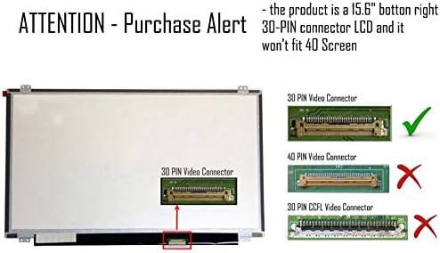 Laptiptop 15,6 LED Display Screen matt Ersatz f/ür B156HTN03.6 1920x1080 FHD 30pin Bildschirm Panel
