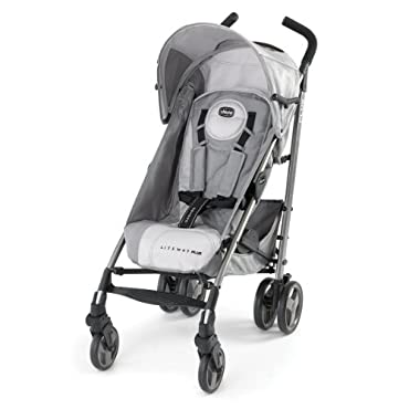Chicco Liteway Plus 2-in-1 Car Seat Convertible Stroller, Silver (CHI-0707931749)
