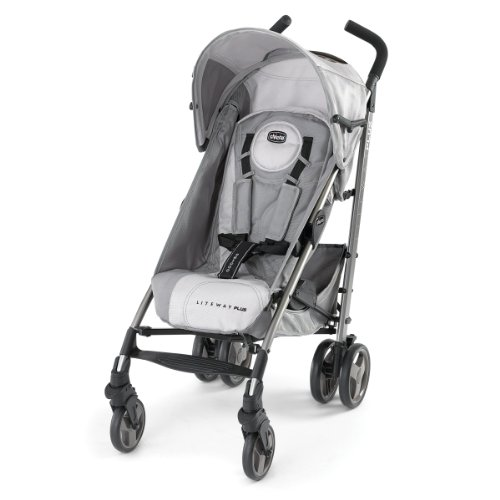 Chicco Liteway Plus Stroller, Silver Chicco Lightweight Umbrella Stroller
