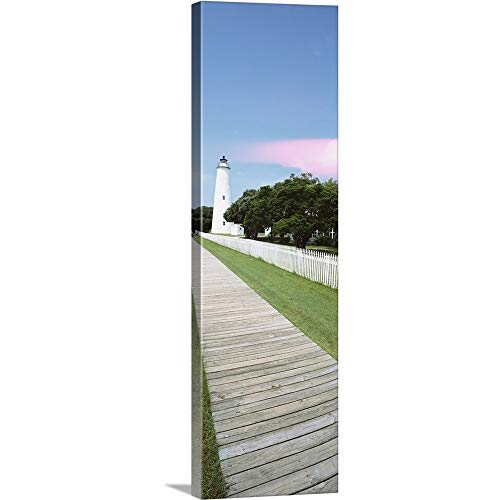 GREATBIGCANVAS Gallery-Wrapped Canvas Entitled Ocracoke Lighthouse Outer Banks NC by 30
