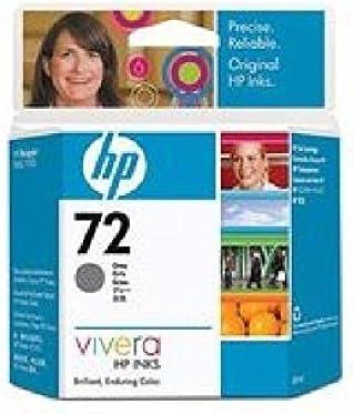 HP 72 – Gris – ORIGINAL – Cartucho de tinta – para DesignJet T1100, T1120, T1200, T1300, T2300, T610, T620, T770, T790, T795 C9401 a HP T1100 Ink Grey No. 72 69