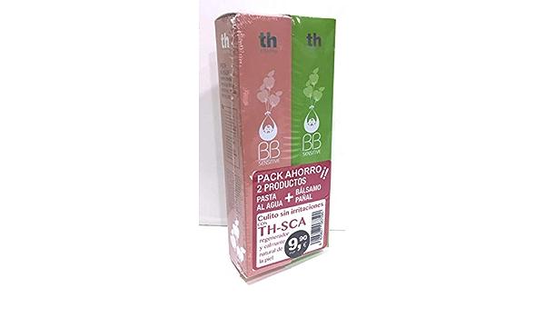 Th Pharma BB Sensitive Pack Ahorro Bálsamo Pañal + Pasta Agua ...