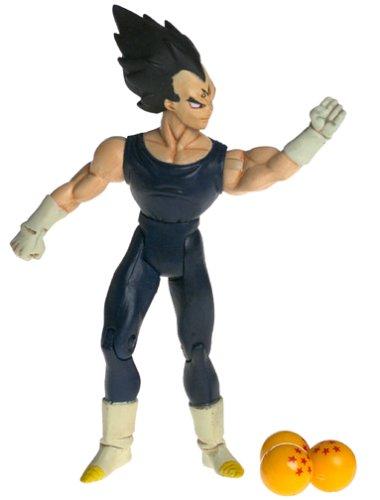 Dragonball Z 5 Majin Vegeta Black Hair Irwin Toys Series 7