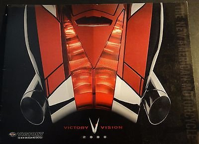 Download 2008 VICTORY MOTORCYCLE SALES BROCHURE 10 PAGES NEW (713) pdf epub