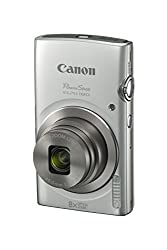 Canon Powershot Elph 180 Digital Camera W Image Stabilization & Smart Auto Mode (Silver)