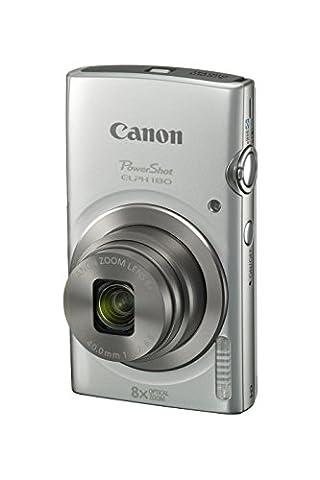 Canon PowerShot ELPH 180 Digital Camera w/ Image Stabilization and Smart AUTO Mode (Silver) (Digital Cameras)