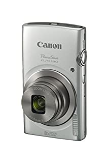 Canon PowerShot ELPH 180 (Silver) with 20.0 MP CCD Sensor and 8x Optical Zoom (B019UDHOMO) | Amazon Products