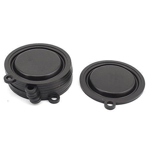 Amazon.com: Sello de goma eDealMax placa del calentador de agua de diafragma de 54 mm Diámetro externo 8PCS Negro: Kitchen & Dining