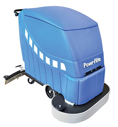 Powr-Flite PAS28-DXBC Self-Propelled Battery Powered Automatic Scrubber, 225 RPM, 28
