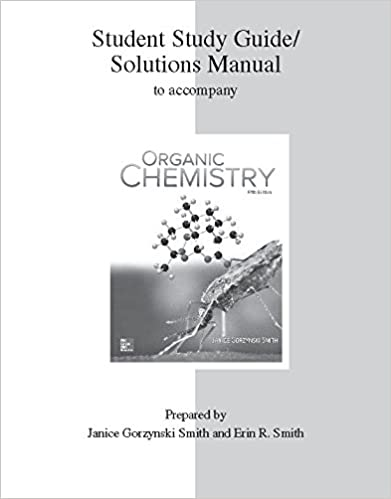 Amazon study guidesolutions manual for organic chemistry study guidesolutions manual for organic chemistry 5th edition by janice gorzynski smith fandeluxe Images