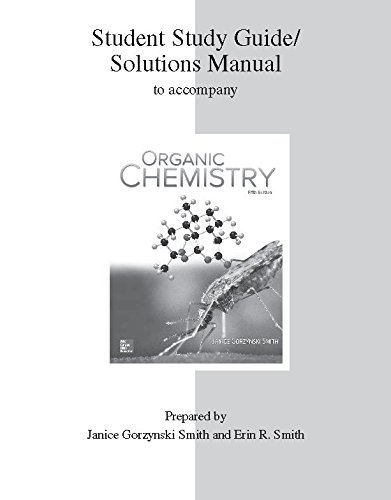Study Guide Solutions Manual For Organic Chemistry By Manual Guide