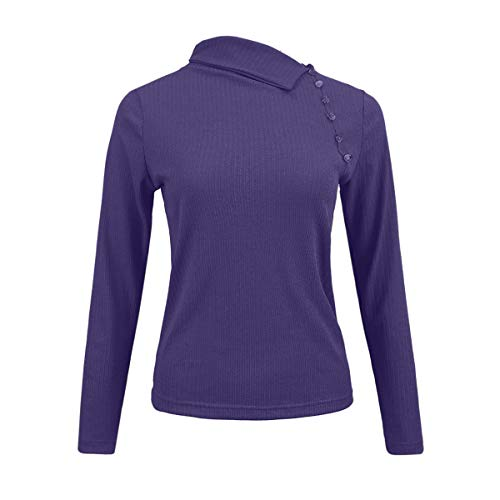 Printemps Automne et Slim Tops Blouse Casual Femmes Jumpers Longues Hauts Pulls Manches Sweaters Chandail Jumpers r5rdpw