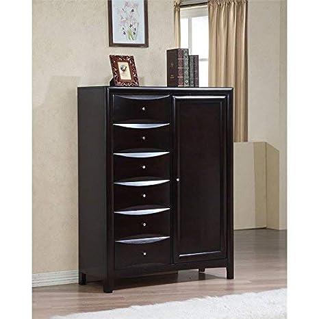 Amazon.com: Coaster Muebles Phoenix 6 cajones: Kitchen & Dining