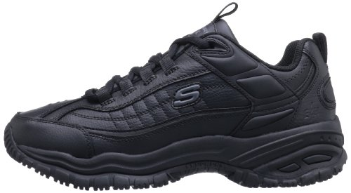 76759 Work Boot Black Stride Work For Skechers Galley Soft afwExnqU