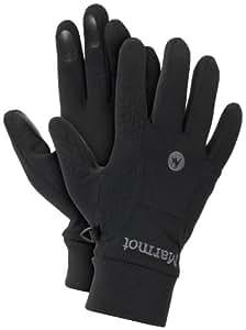 Marmot Men's Power Stretch Glove, Black, Small